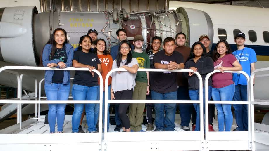 FTSS JV Hosts Eastern Hills High School Honors Math Students Tour of Fort Worth Flight Simulators