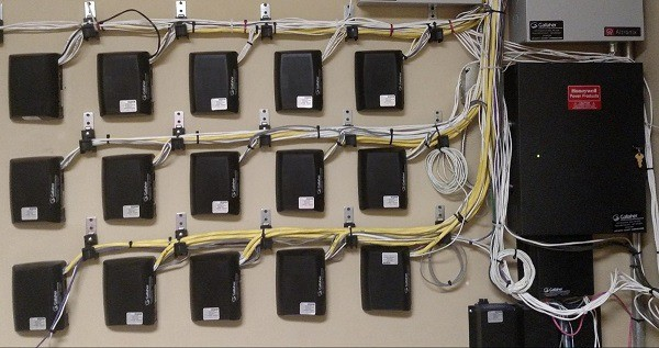 Facilities Maintenance and Repair Job - Fixing a Security Badge Swiping System